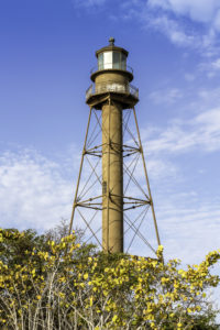 Historic Sanibel Island Lighthouse in Florida