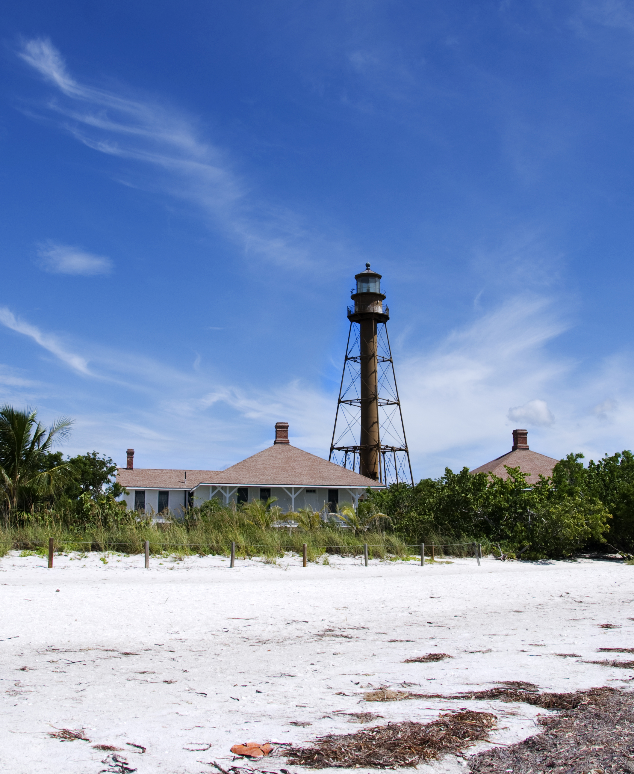 Wonderful Sanibel Island LIghthouse And Light Keepers Cottages