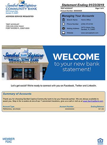 e-Statements   Sanibel Captiva Community Bank